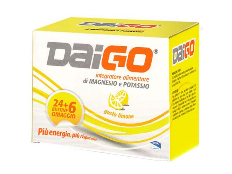 DAIGO MAGNESIO E POTASSIO GUSTO LIMONE 30 BUSTINE