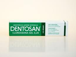 DENTOSAN CLOREXIDINA GEL 0,2 DENTIFRICIO AZIONE INTENSIVA 75 ML