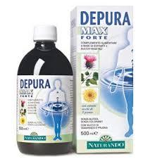DEPURA MAX FORTE INTEGRATORE ALIMENTARE PER LA FISIOLOGICA FUNZIONE DEPURATIVA - 500 ML