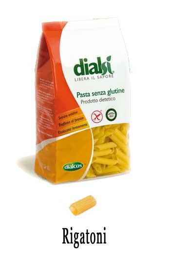 DIALSI PASTA SENZA GLUTINE - RIGATONI - 500 G