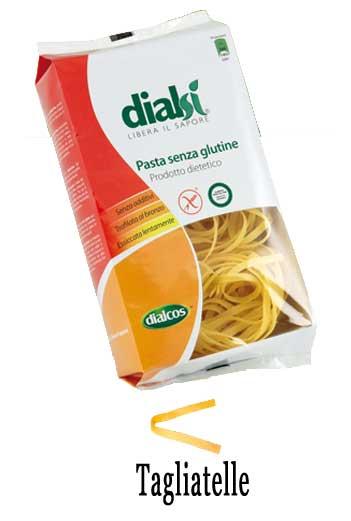 DIALSI PASTA SENZA GLUTINE - TAGLIATELLE - 250 G