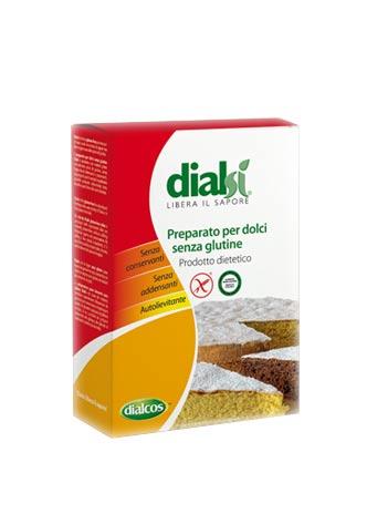 DIALSI PREPARATO PER DOLCI SENZA GLUTINE - 500 G