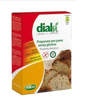 DIALSI PREPARATO PER PANE SENZA GLUTINE - 500 G