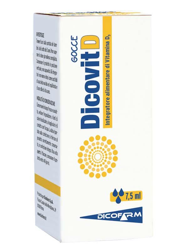 DICOVIT D GOCCE 7,5 ML