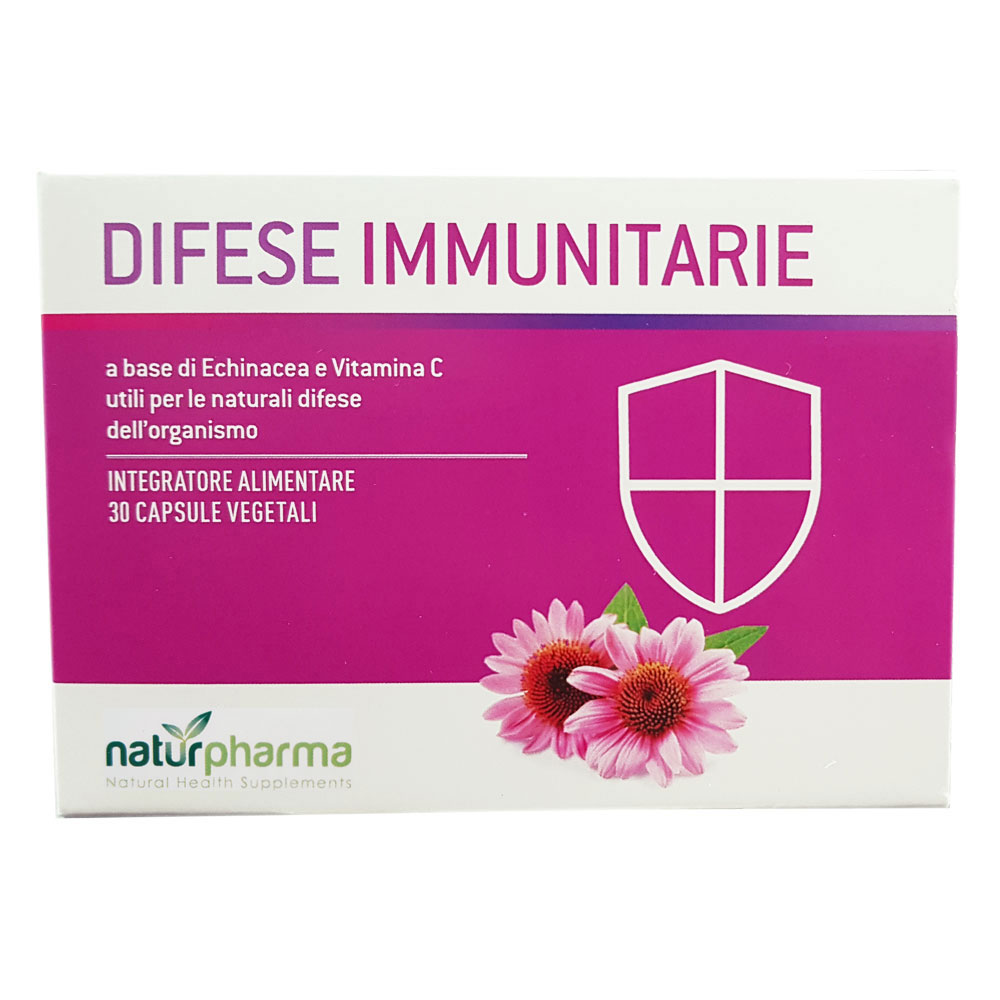 DIFESE IMMUNITARIE NATURPHARMA 30 CAPSULE