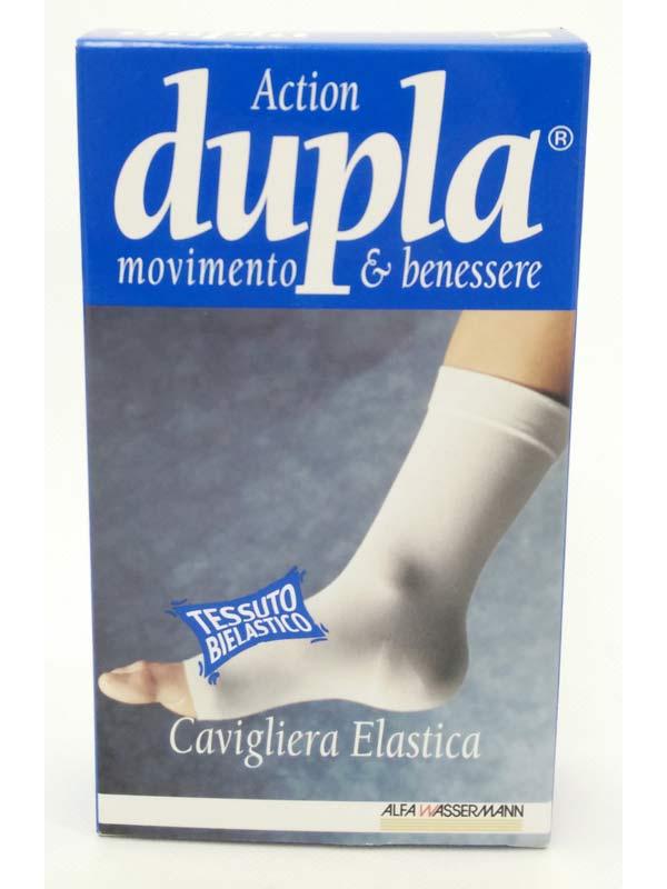 DUPLA ACTION CAVIGLIERA ELASTICA COLORE CAMEL TAGLIA XL DA 30 A 33 CM