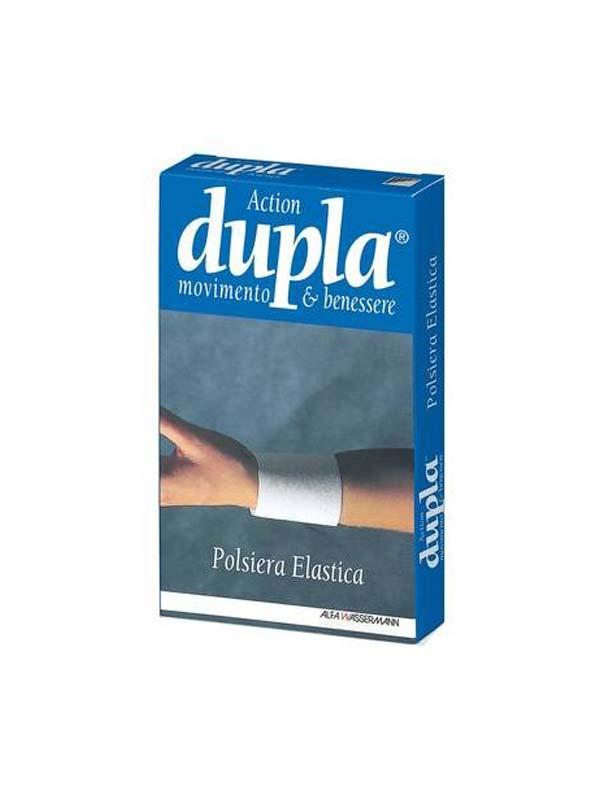 DUPLA ACTION POLSIERA ELASTICA COLORE BLUETTE TAGLIA L