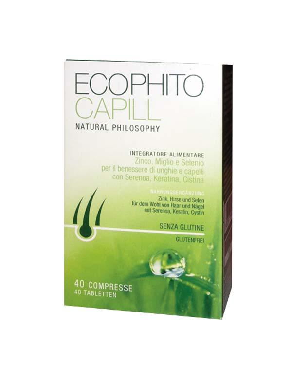 ECOPHITO CAPILL 40 COMPRESSE DA 1 G