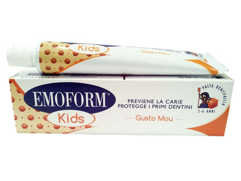 EMOFORM KIDS DENTIFRICIO ANTICARIE GUSTO MOU 50 ML