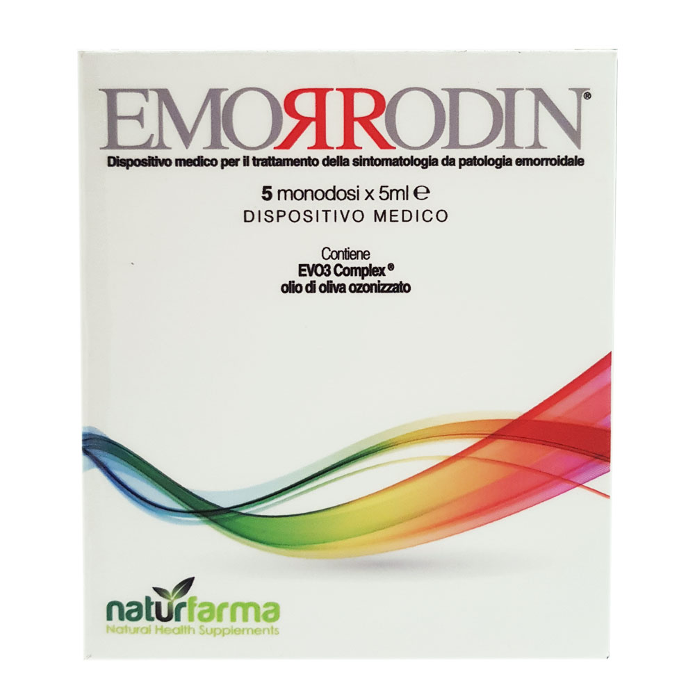 EMORRODIN NATURPHARMA 5 FIALE MODONOSE DA 5 ML