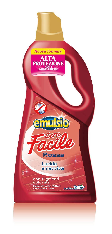 EMULSIONE CERA FACILE ROSSA 750 ML