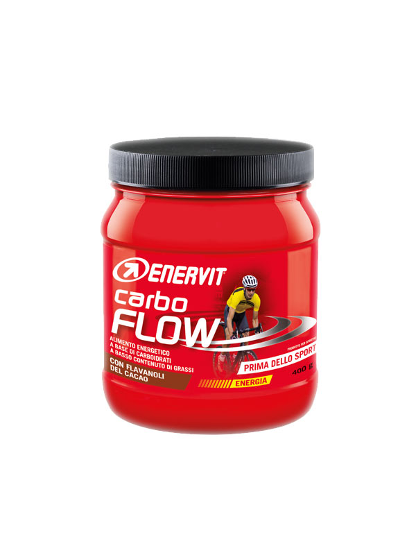 ENERVIT CARBO FLOW ALIMENTO ENERGETICO A BASE DI CARBOIDRATI - 400 G