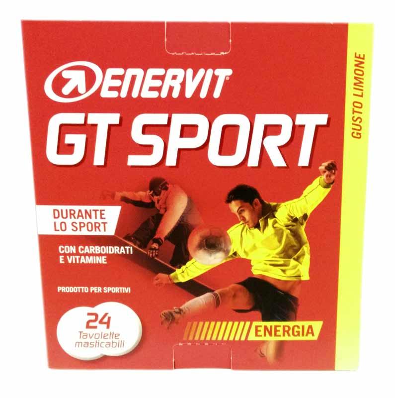 ENERVIT GT SPORT GUSTO LIMONE 24 TAVOLETTE