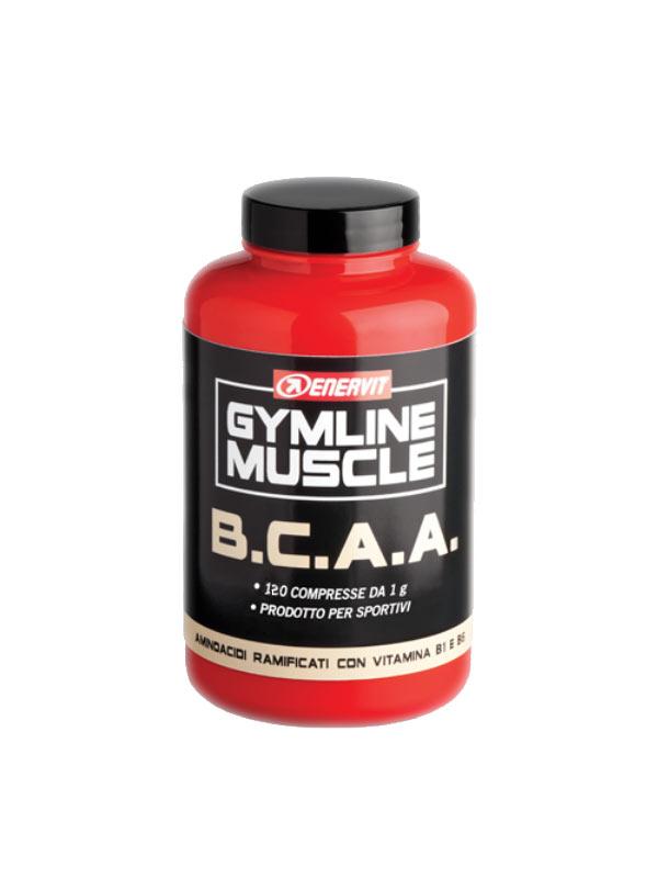 ENERVIT GYMLINE MUSCLE BCAA AMINOACIDI RAMIFICATI 120 COMPRESSE DA 1 G