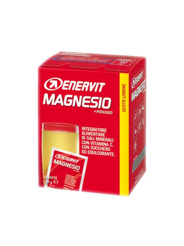 ENERVIT MAGNESIO + POTASSIO 10 BUSTE DA 15 G