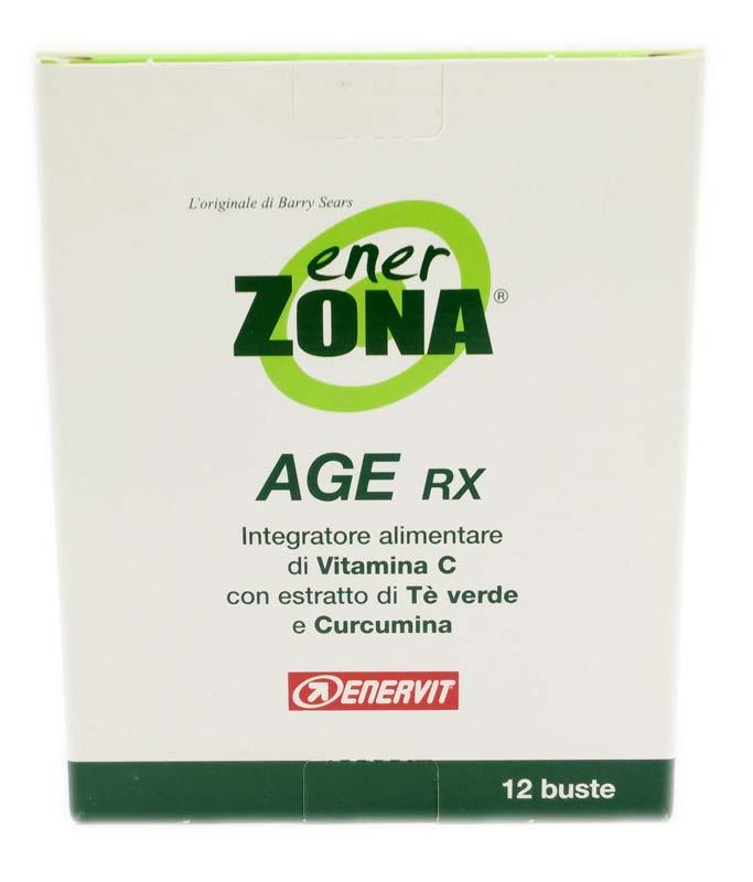 ENERZONA AGE RX INTEGRATORE DI VITAMINA C 12 BUSTE DA 4 G