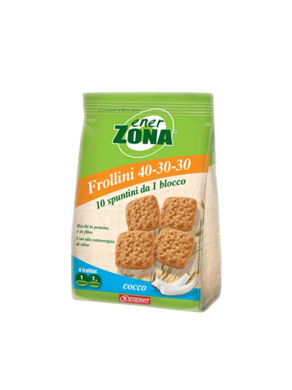 ENERZONA FROLLINI 40 30 30 COCCO 250 G