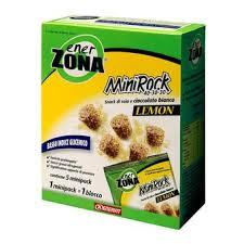 ENERZONA MINIROCK CIOCCOLATO BIANCO LEMON 5 Minipack da 24 gr