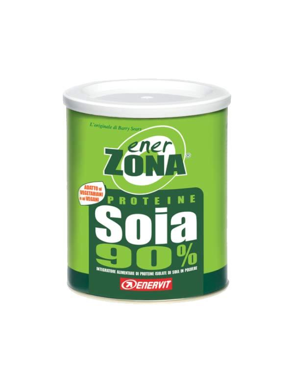 ENERZONA PROTEINE SOIA 90% INTEGRATORE DI PROTEINE IN POLVERE 216 G