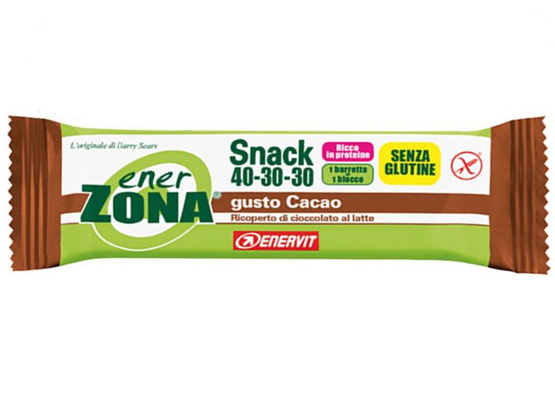 ENERZONA SNACK GUSTO CACAO BOX DA 30 BARRETTE