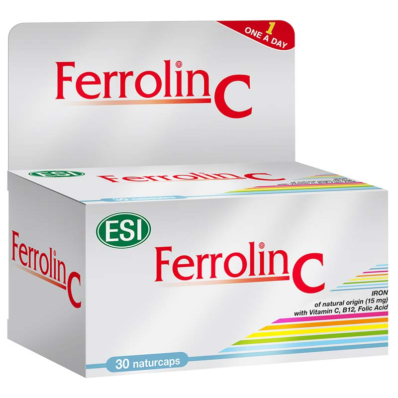ESI FERROLIN C 30 CAPSULE