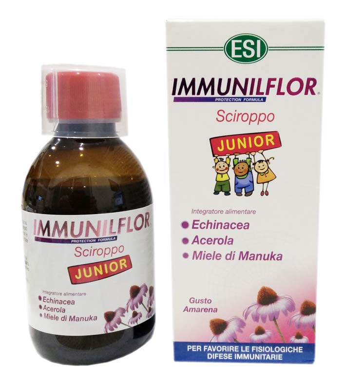 ESI IMMUNILFLOR JUNIOR SCIROPPO 200 ML