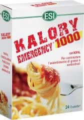 ESI KALORY EMERGENCY 1000 INTEGRATORE PER IL CONTROLLO DEL PESO - 24 OVALETTE