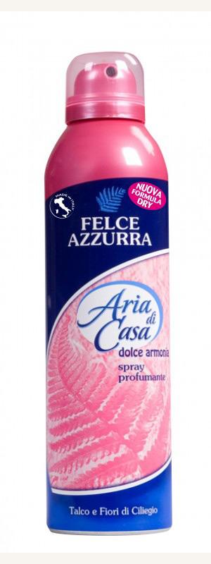FELCE AZZURRA ARIA DI CASA SPRAY TALCO E FIORI DI CILIEGIO 250 ML