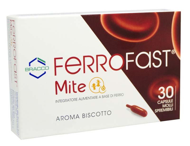FERROFAST MITE 30 CAPSULE MOLLI