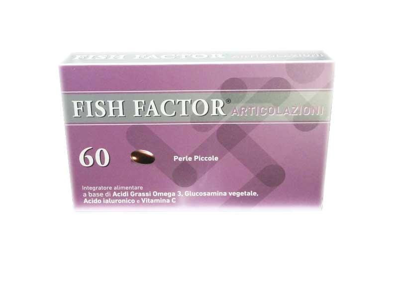 FISH FACTOR ARTICOLAZIONI 60 PERLE PICCOLE