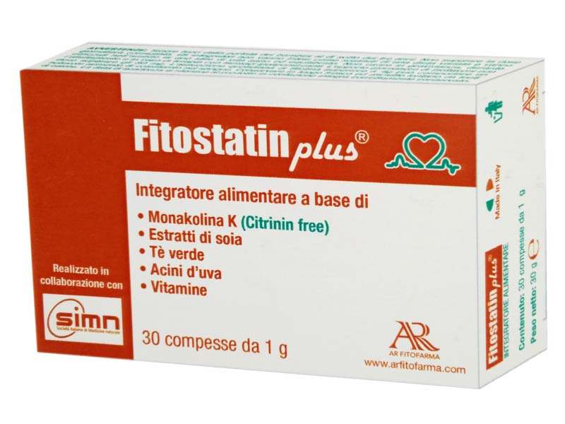 FITOSTATIN PLUS 30 COMPRESSE DA 1 G