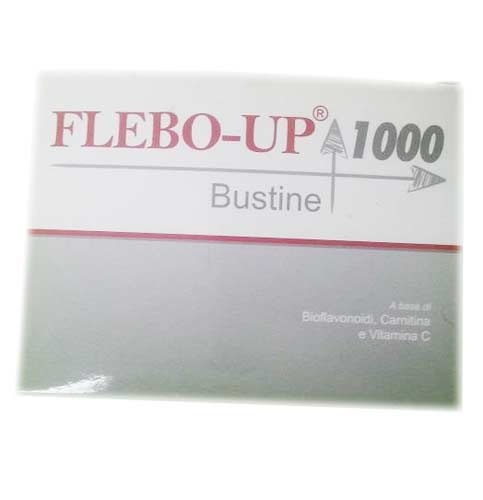 FLEBO UP 1000 INTEGRATORE UTILE PER IL FLUSSO SANGUIGNO - 18 BUSTE