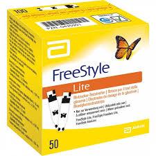 FREESTYLE LITE STRISCE PER TEST DELLA GLICEMIA - 50 STRISCE