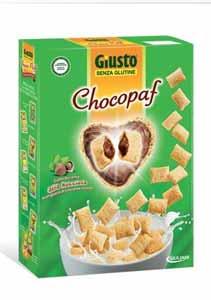 GIUSTO SENZA GLUTINE - CHOCOPAF - 300 G