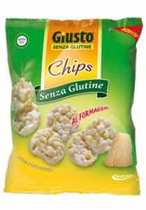 GIUSTO SENZA GLUTINE CHIPS AL FORMAGGIO 30 G