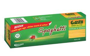 GIUSTO SENZA GLUTINE PASTA MAIS E RISO - SPAGHETTI - 500 G