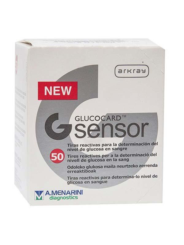 GLUCOCARD G SENSOR 50 STRISCE REATTIVE