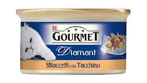 GOURMET DIAMANT PER GATTI SFILACCETTI CON TACCHINO GR.85 - 24 CONFEZIONI
