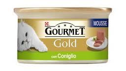GOURMET GOLD PATE PER GATTI CON CONIGLIO GR.85 - 24 CONFEZIONI