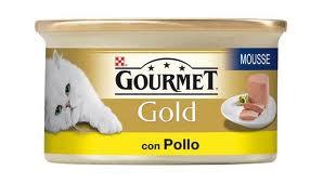 GOURMET GOLD PATE PER GATTI CON POLLO GR.195 - 24 CONFEZIONI
