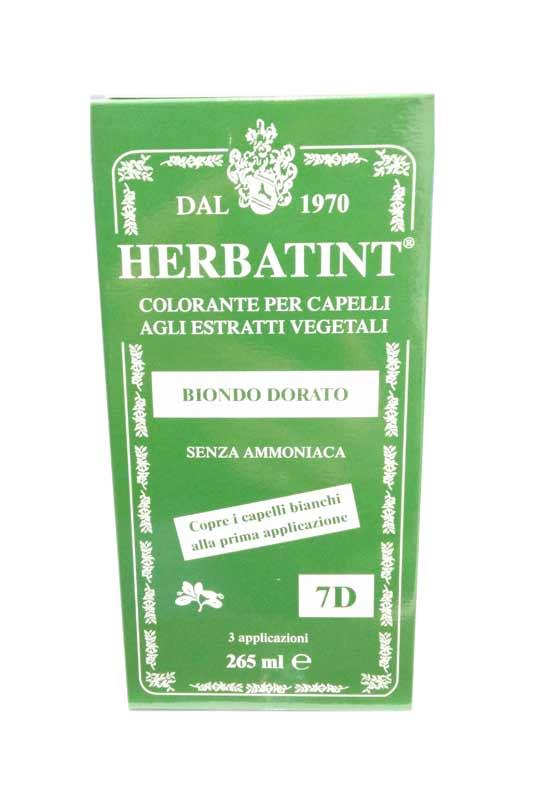 HERBATINT TINTA PER CAPELLI 7D BIONDO DORATO - 265 ML