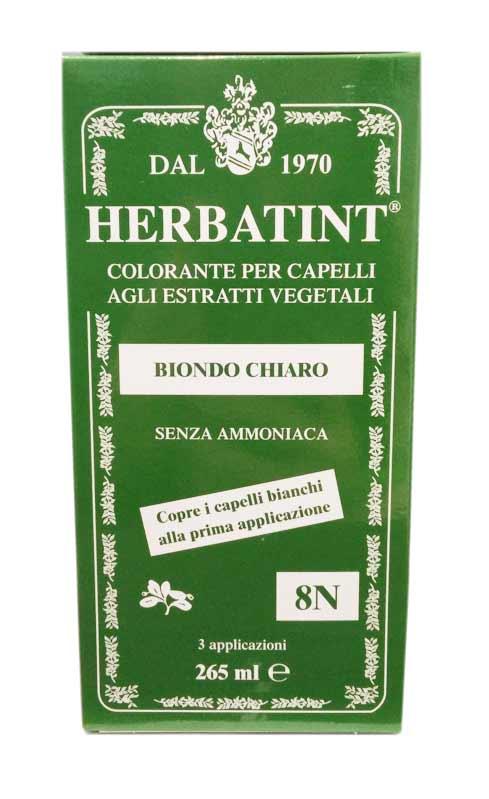 HERBATINT TINTA PER CAPELLI 8N BIONDO CHIARO - 265 ML