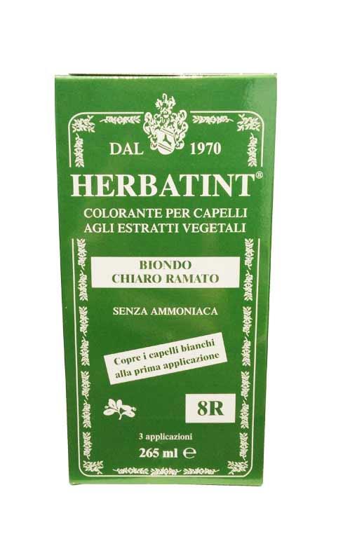 HERBATINT TINTA PER CAPELLI 8R BIONDO CHIARO RAMATO - 265 ML