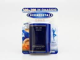 HERMESETAS GOLD DOLCIFICANTE - 700 COMPRESSE