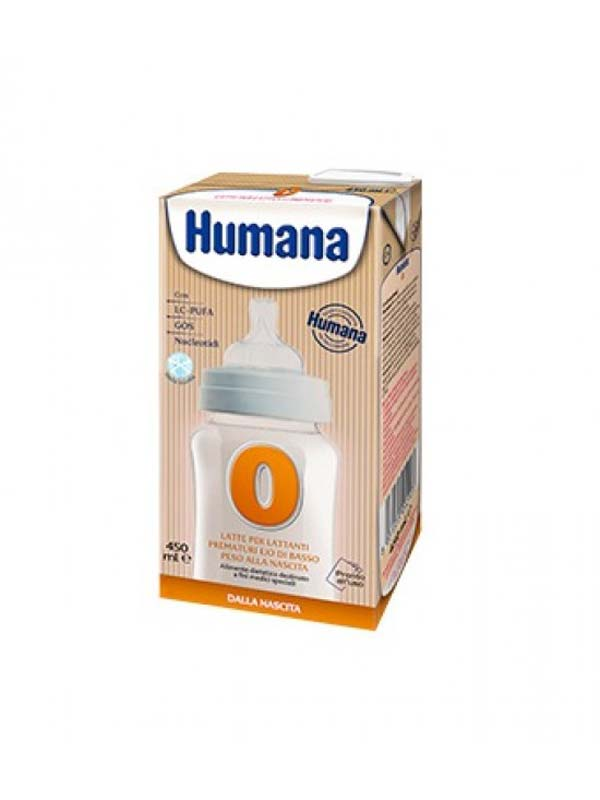 HUMANA 0 LATTE LIQUIDO 450 ML