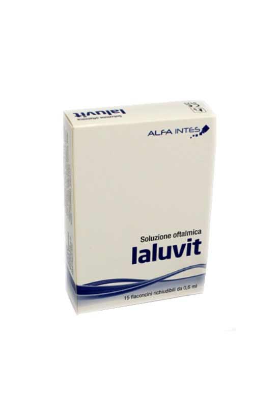 IALUVIT SOLUZIONE OFTALMICA - 15 FIALE DA 0,6 ML