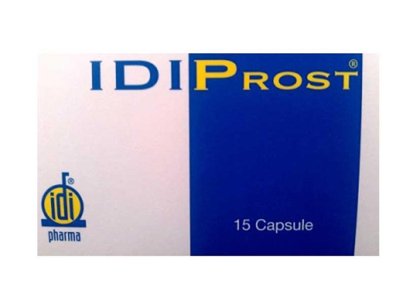IDIPROST INTEGRATORE PER IL BENESSERE DELLA GHIANDOLA PROSTATICA - 15 CAPSULE