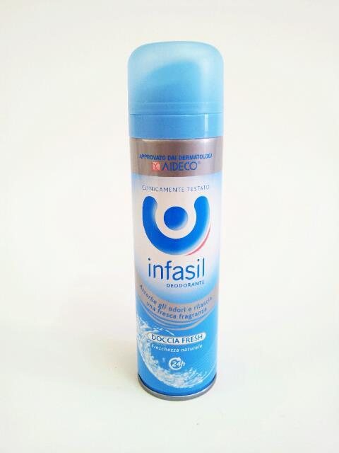 INFASIL DEODORANTE SPRAY DOCCIA FRESH FRESCHEZZA NATURALE - 150 ML