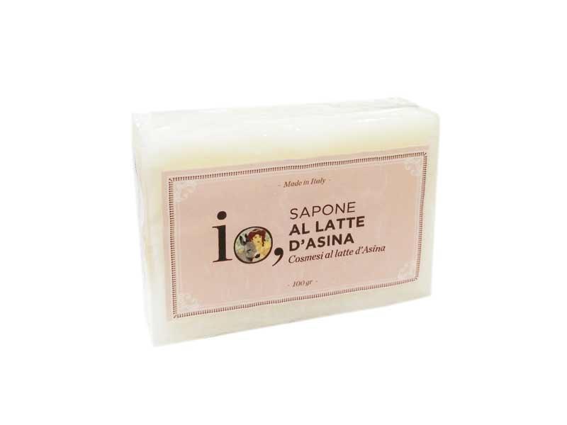 IO - SAPONE AL LATTE D'ASINA - 100 G