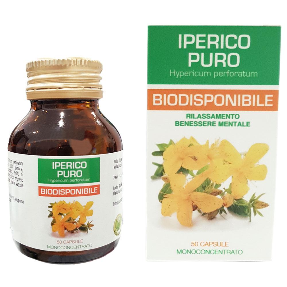 IPERICO PURO BIODISPONIBILE 50 CAPSULE DA 350 MG